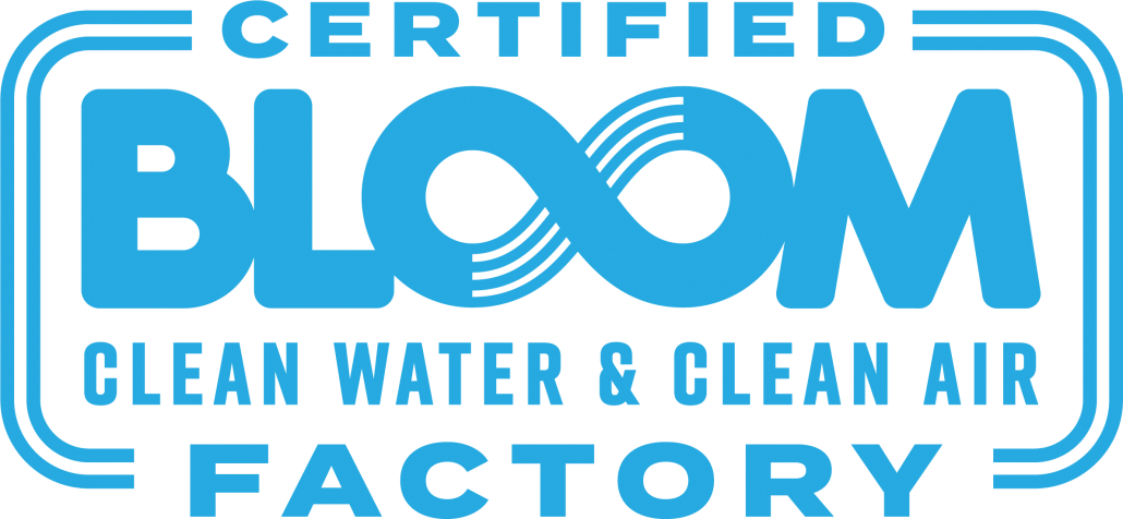Bloom Certified Factory Mark